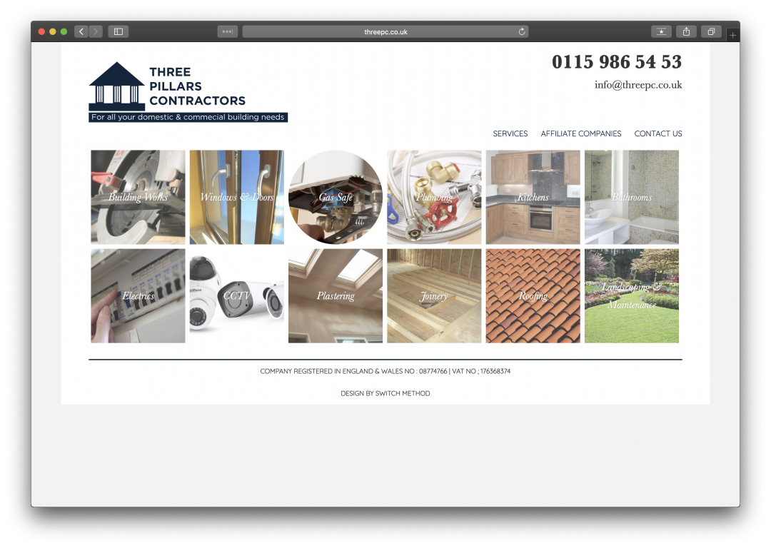Three Pillars Contractors